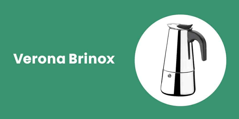 Cafeteira De Alumínio 6 Xícaras Verona Brinox