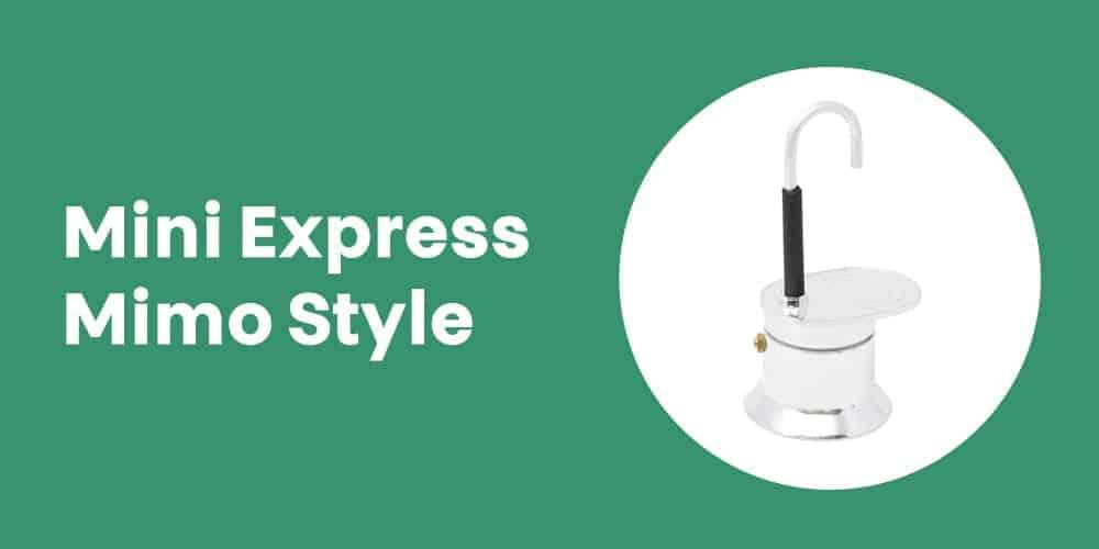 Cafeteira Italiana Mini Express Mimo Style