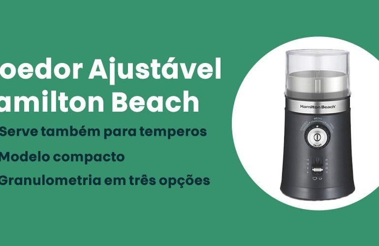 Moedor Ajustavel Hamilton Beach e bom