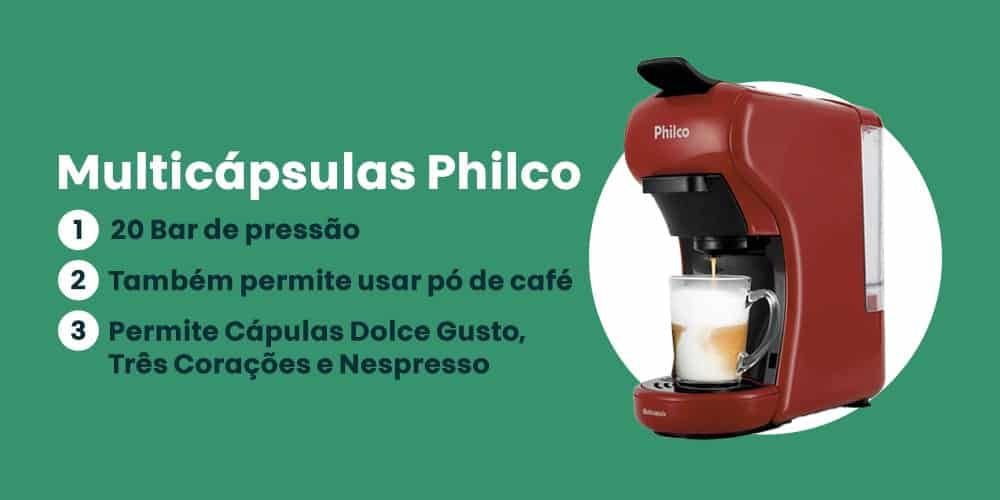 Multicapsulas Philco e boa