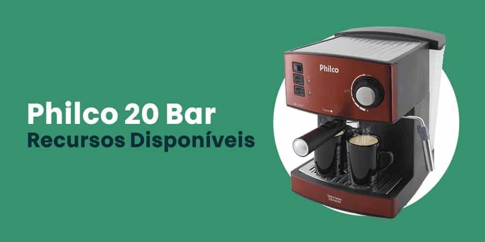 Philco 20 Bar recursos