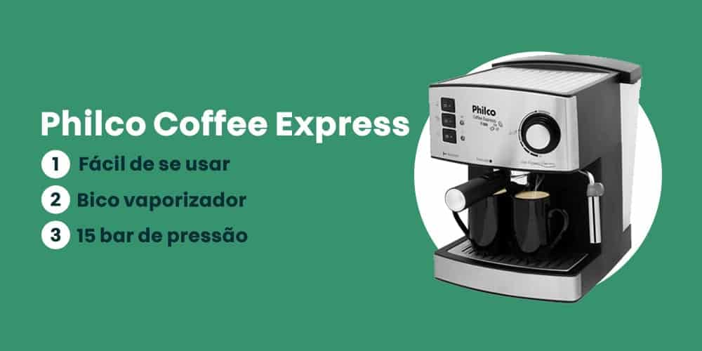 Philco Coffee Express e boa