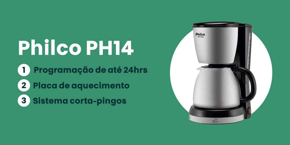 cafeteira philco digital ph14 é boa