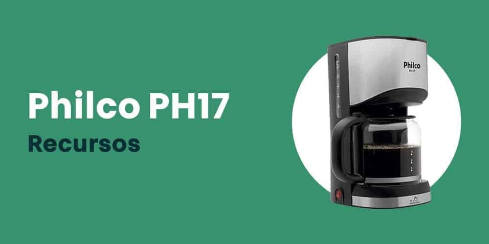 Philco PH17 recursos