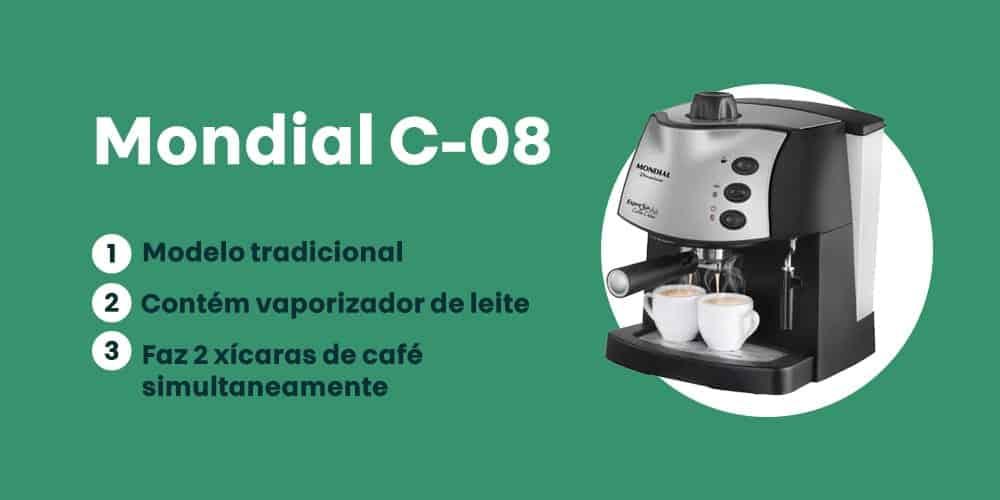 cafeteira Mondial C-08 é boa