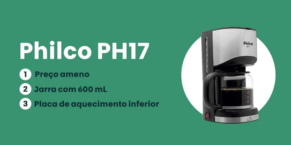 cafeteira Philco PH17 e boa
