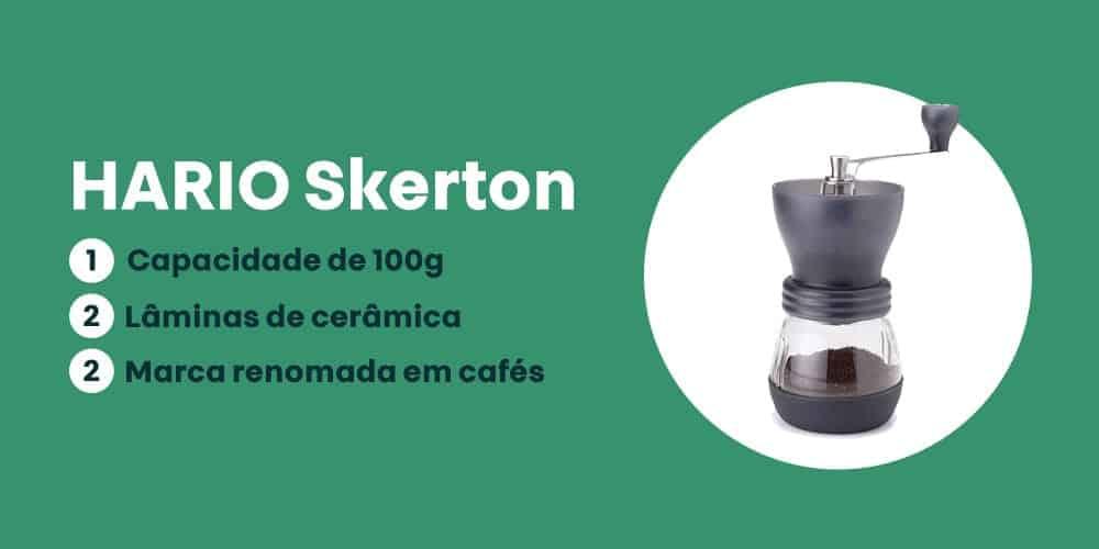 moedor HARIO Skerton e bom