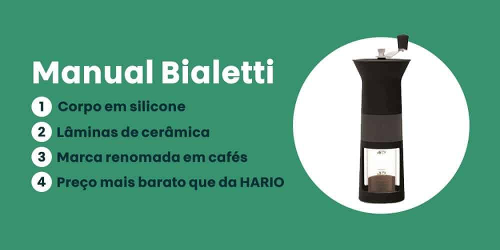 moedor Manual Bialetti e bom