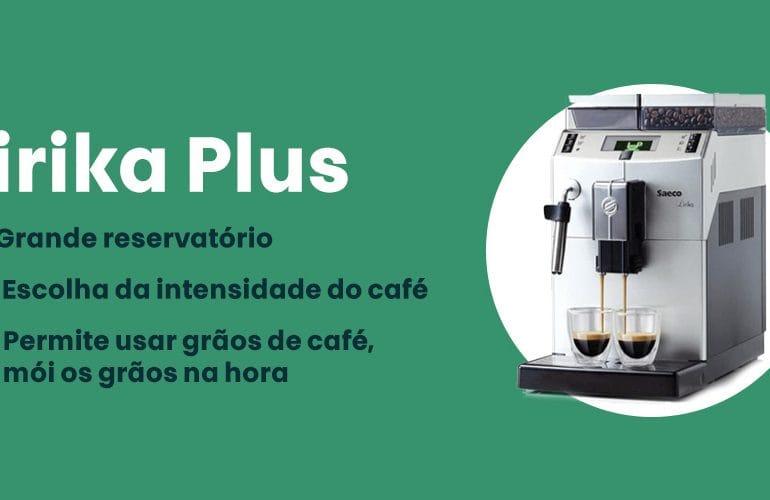 Cafeteira Automatica Lirika Plus e boa