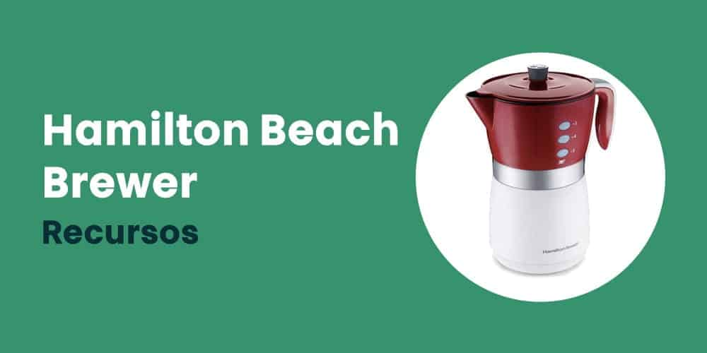 Hamilton Beach Brewer recursos