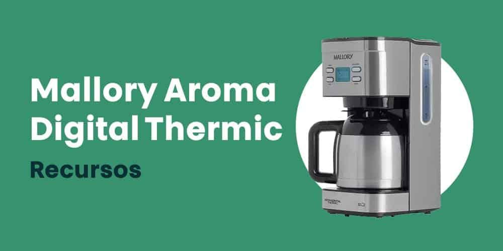 Mallory Aroma Digital Thermic recursos