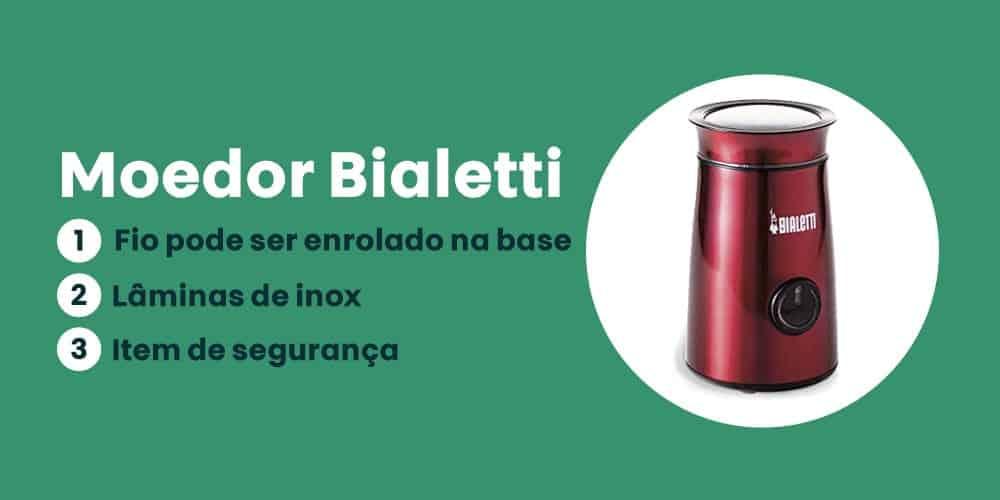 Moedor Bialetti e bom