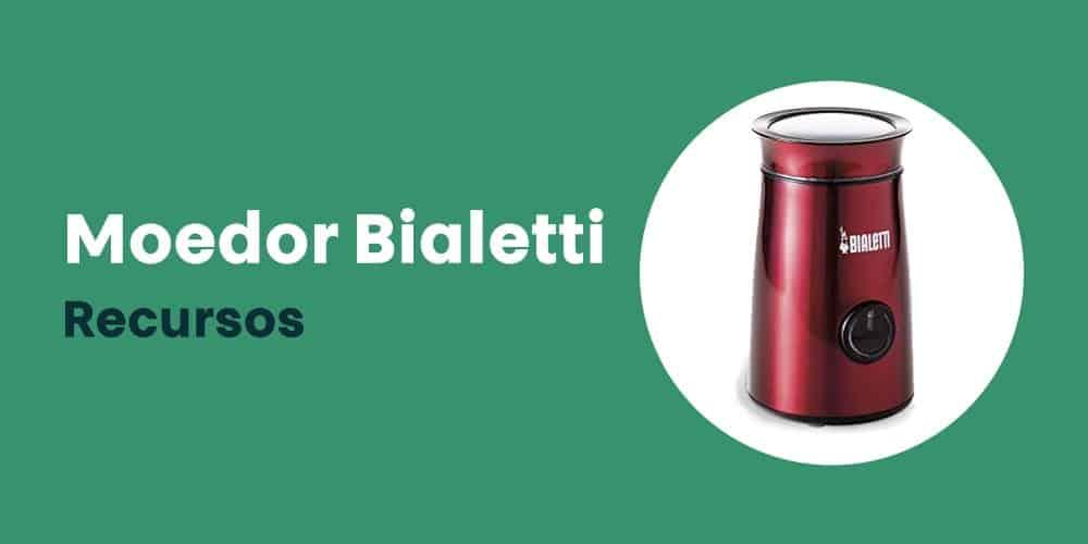 Moedor Bialetti recursos