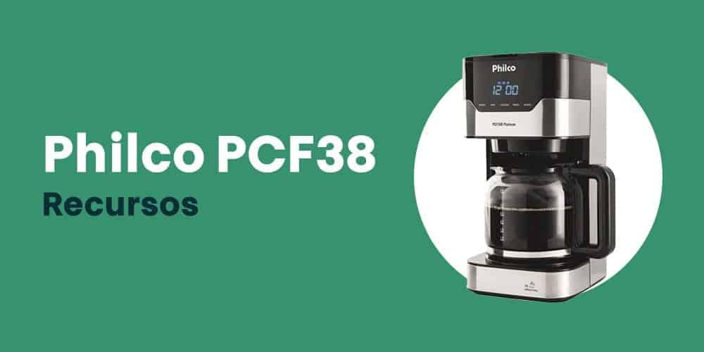 Philco PCF38 recursos