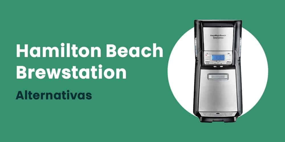 cafeteira Hamilton Beach Brewstation alternativas