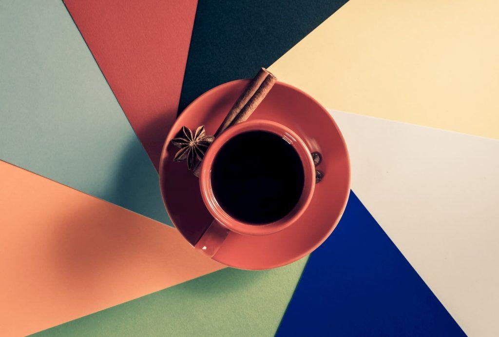 xícara de café gourmet