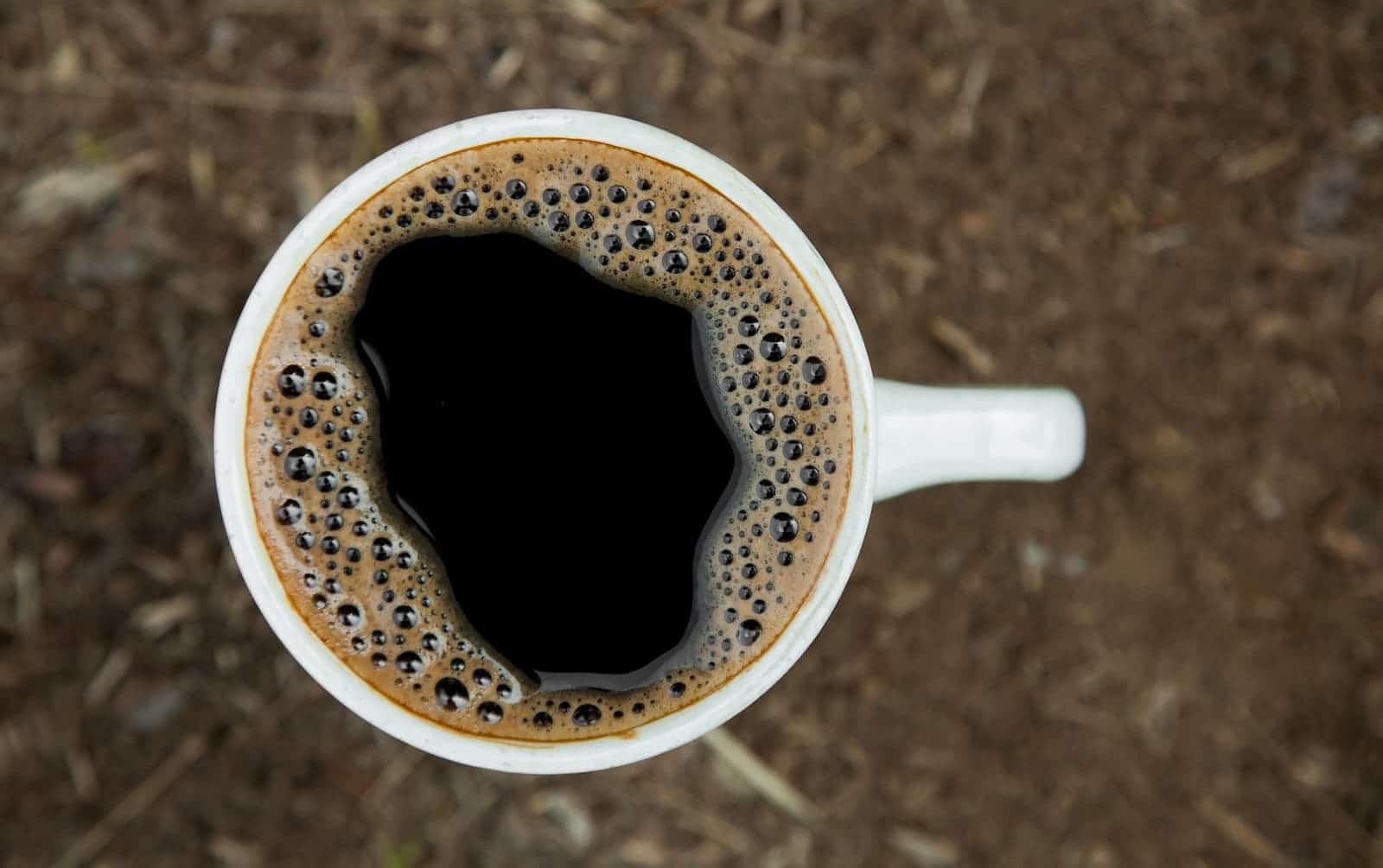 deliciosa xícara de café