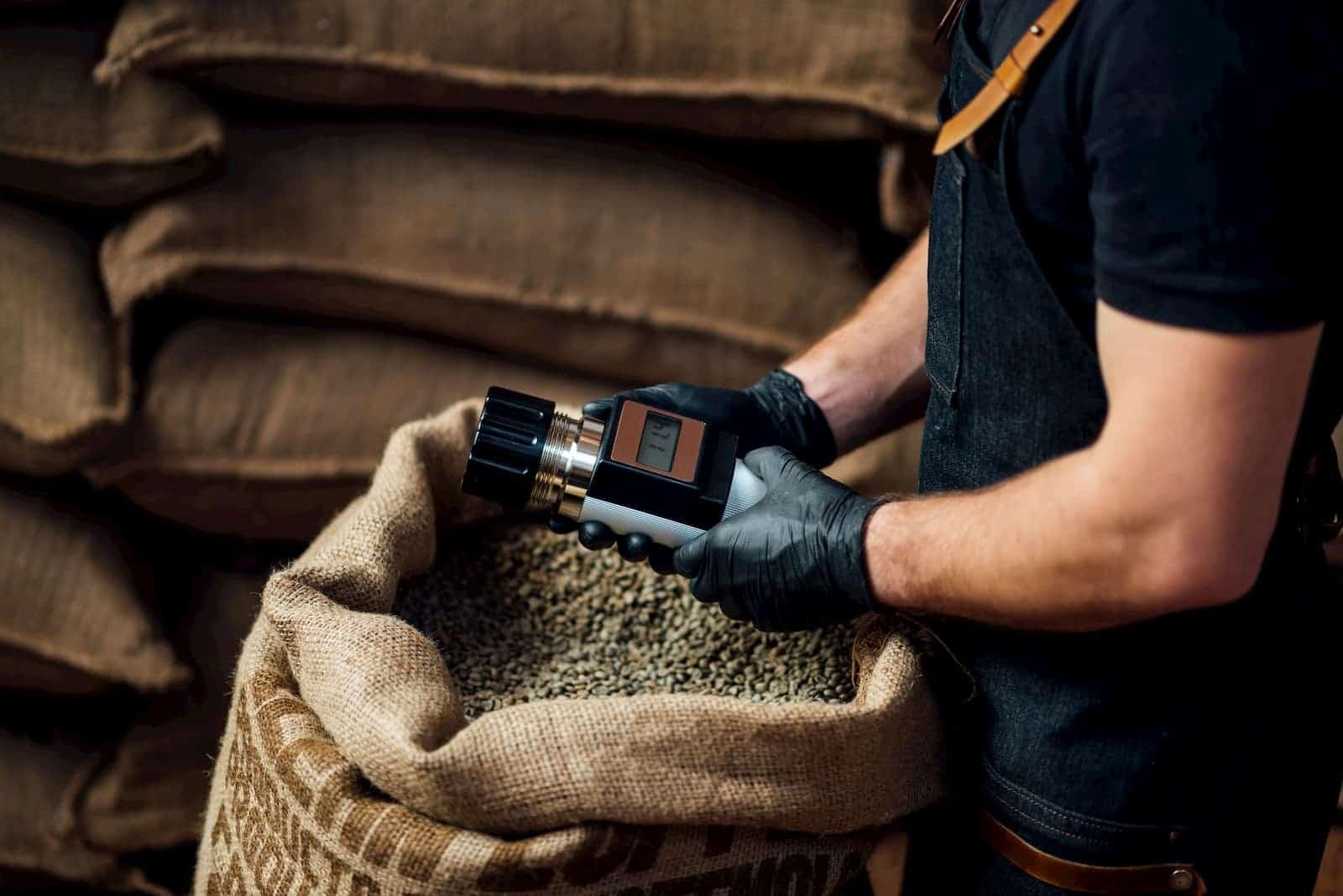 mensurando qualidade do café
