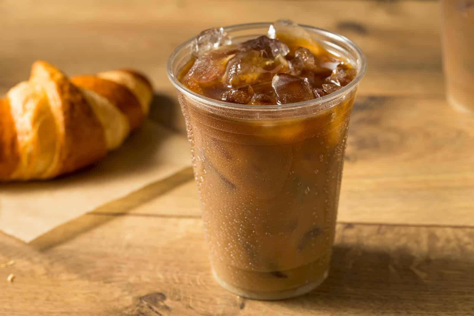 bebida preparada a base de café
