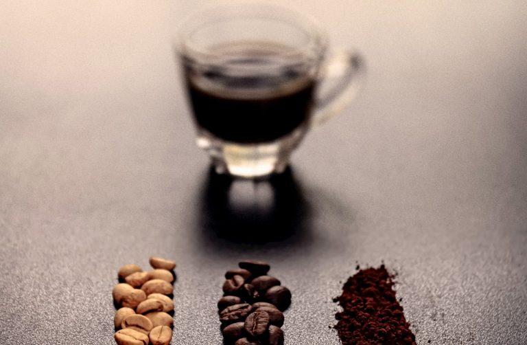 bebidas com cafeína