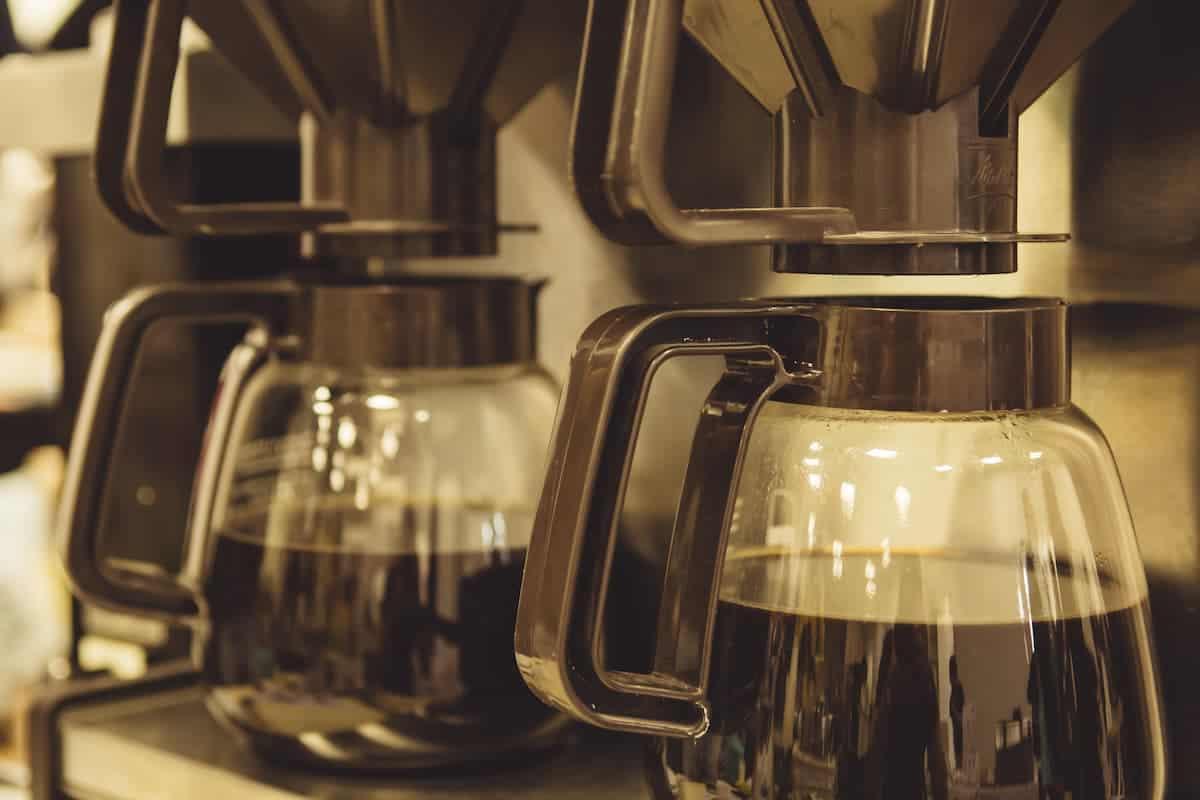 cafezinho coado na hora